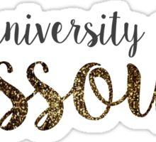 University of Missouri Sticker