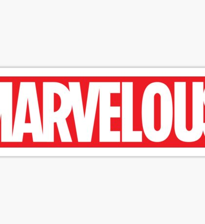 MARVELOUS TEE Sticker