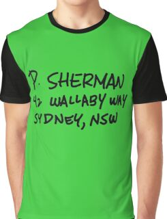 P. Sherman 42 Wallaby Way Sydney Graphic T-Shirt