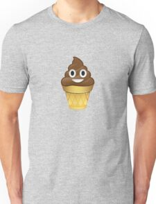 Poo emoji icecream Unisex T-Shirt