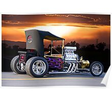 1923 Ford T Roadster Pickup Poster