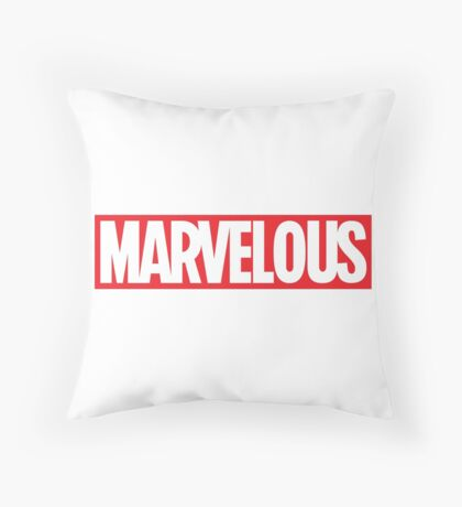 MARVELOUS PILLOWS Throw Pillow