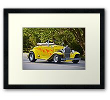 1930 Ford Model A Roadster Framed Print