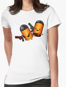Trigger Twins Womens Fitted T-Shirt