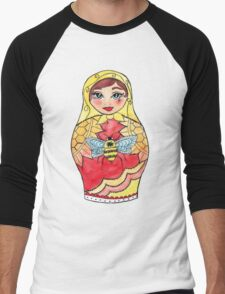 Matryoshka doll  Men's Baseball ¾ T-Shirt