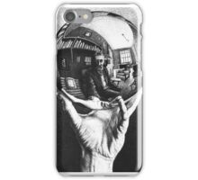 Hand with Reflecting Sphere - Escher  iPhone Case/Skin