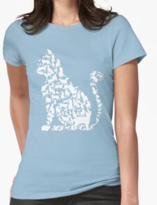 Cat in cats Womens Fitted T-Shirt