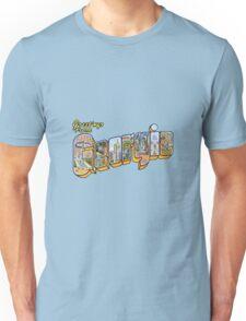 Greetings from Georgia Unisex T-Shirt