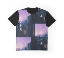 シアトル (Seattle) Graphic T-Shirt