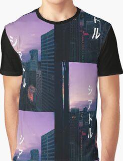 シアトル (Seattle) Graphic T-Shirt