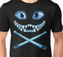 Cheshire Cat Grin and Drumsticks Unisex T-Shirt