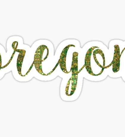 University of Oregon Sticker