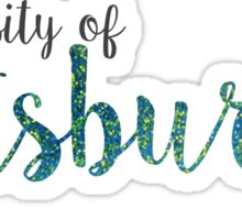 University of Pittsburgh - Pitt Sticker