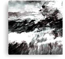 BW 019 Canvas Print