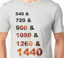 Multiples of 180 On Fire Unisex T-Shirt