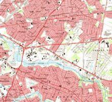 USGS TOPO Map New Jersey NJ Camden 254235 1967 24000 Sticker