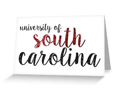 University of South Carolina Greeting Card