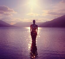 Mirror Man Loch Earn by Cat Perkinton