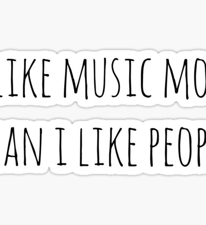 Music Sticker