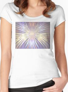 Morning Glory Women's Fitted Scoop T-Shirt