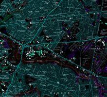 USGS TOPO Map New Jersey NJ Camden 254236 1967 24000 Inverted Sticker