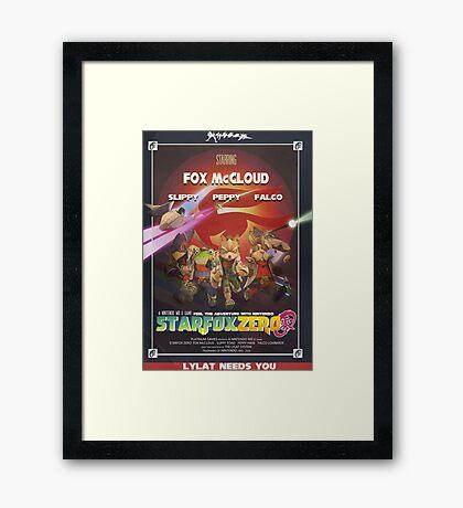 Lylat - Star Fox Zero Framed Print