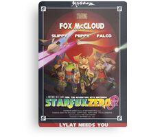 Lylat - Star Fox Zero Metal Print