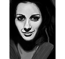 Amy acker.  Photographic Print
