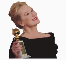 Meryl Streep: All The Awards by Homely Pop