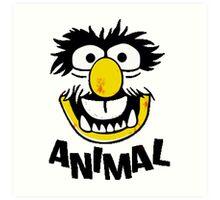 Animal Muppets Art Print