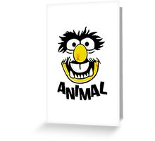 Animal Muppets Greeting Card