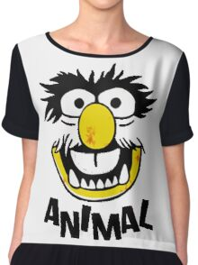 Animal Muppets Chiffon Top