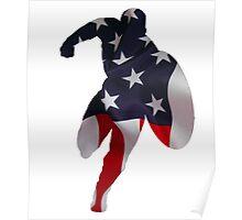 Patriotic Captain Poster