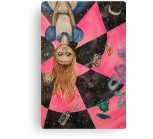 Alice Upside Down Canvas Print