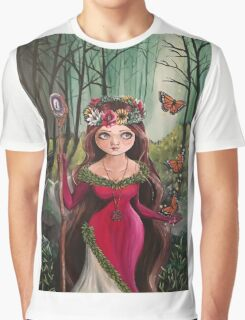 The Druid Girl Graphic T-Shirt