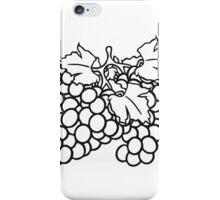 many grape grapes harvest tasty wine iPhone Case/Skin