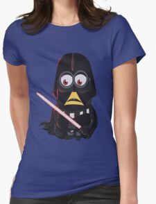 Minion Minions Darth Vader Womens Fitted T-Shirt