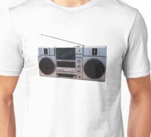 Sanyo Stereo AM FM Radio Cassette Player Unisex T-Shirt