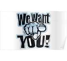 Want You Poster