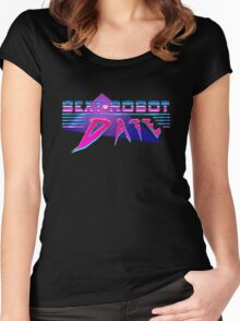 Sexy Robot Date Women's Fitted Scoop T-Shirt