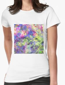 Garden Of Colour Womens Fitted T-Shirt