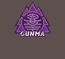 Gunma Prefecture Japanese Symbol Distressed Unisex T-Shirt