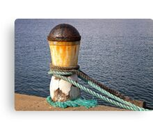 The bollard Canvas Print