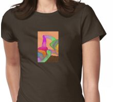 D-E-A-F Womens Fitted T-Shirt