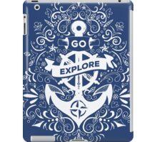 Go Explore iPad Case/Skin