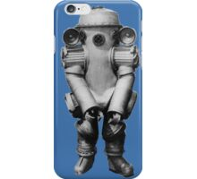 Retro Deep Sea Diver iPhone Case/Skin