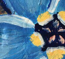 Flower Series 1: Inner Power Paintings Sticker