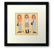Cheese In The Trap- Hong Seol  Framed Print