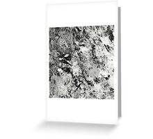 Warfare In Black And White Greeting Card