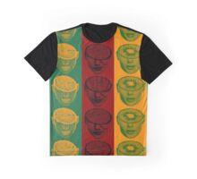 Fruit Heads (Colour Array) Graphic T-Shirt